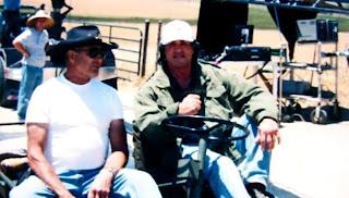 Sylvester Stallone filmando Rambo IV