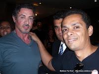 Toni Coutinho com Sylvester Stallone