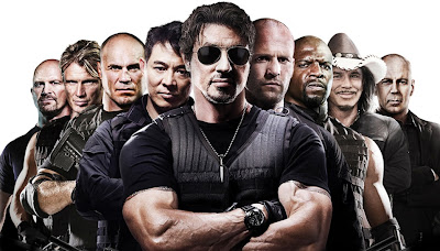 Elenco do Filme Os Mercenários - The Expendables