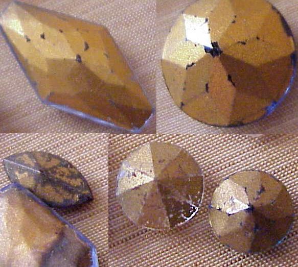 Foil Back Rhinestones Rhinestone Repair Re-foiling