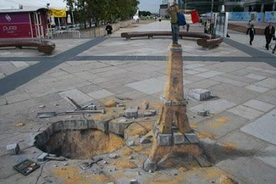 Of Mice And Ramen 3d Chalk Sidewalk Drawings By Julian Beever