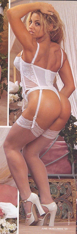 Trish Stratus White Lingerie 25