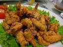 Fried Coriander Shrimp