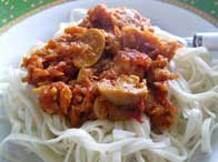 Bolognaise Tuna Noodle