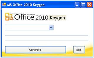 keygen for microsoft office 2010