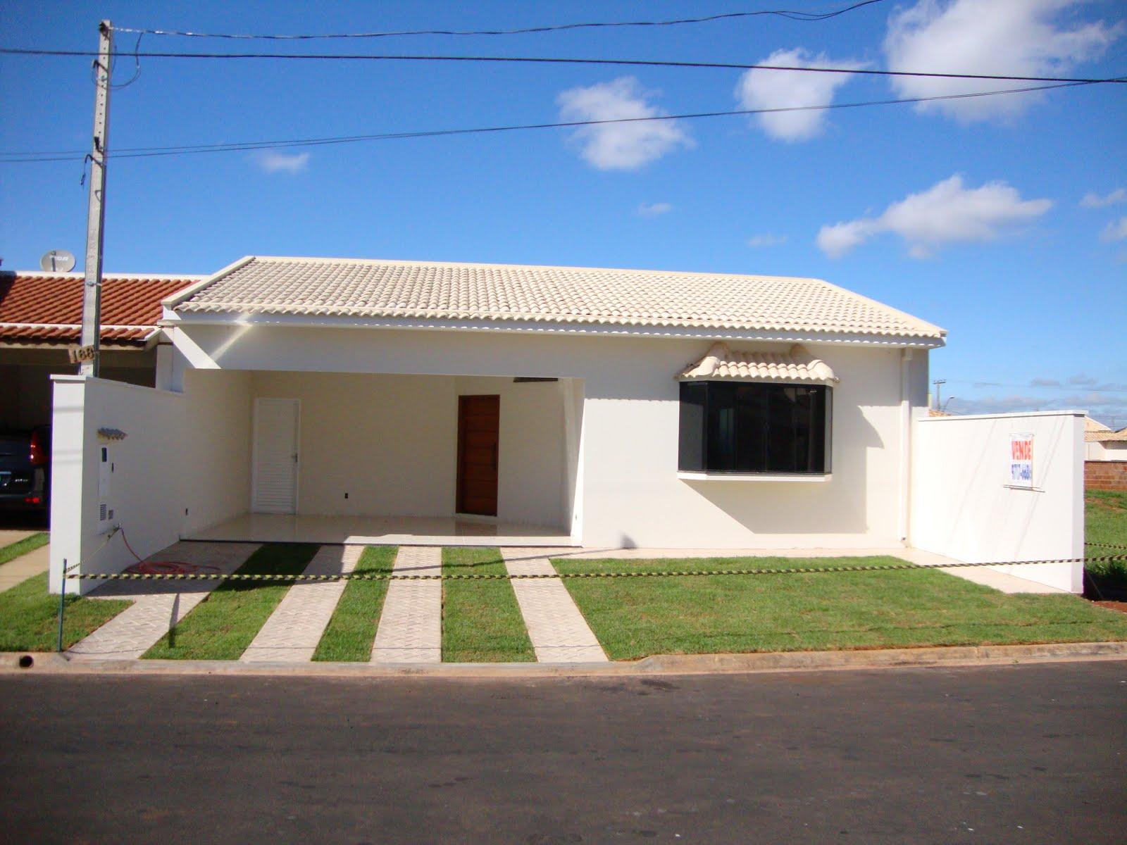 Casas bonitas fachada e planta baixa condominio flamboyants for Casas modernas fachadas bonitas