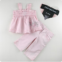 CK-2 piece pink set