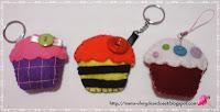Cupcake Key-chain