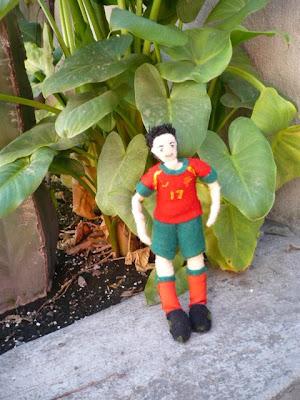 Cristiano Ronaldo doll 3