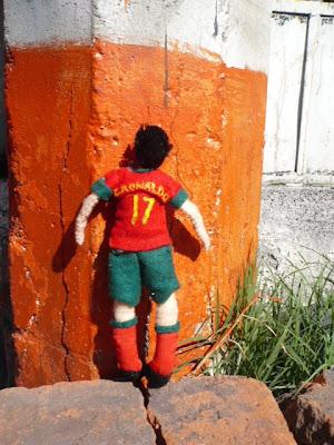Cristiano Ronaldo doll 4
