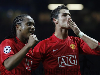 cristiano ronaldo and anderson photos