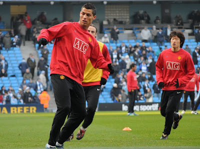 cristiano ronaldo training manchester united 2