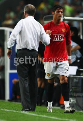Cristiano Ronaldo-Ronaldo-CR7-Manchester United-Portugal-Transfer to Real Madrid-Images-Sir Alex Ferguson