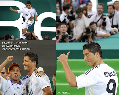 Cristiano Ronaldo Real Madrid - CR9 - Wallpapers