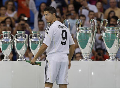 The Number 9 of Real Madrid is Cristiano Ronaldo