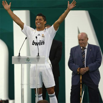ronaldo cristiano real madrid. Cristiano Ronaldo 9 - The New