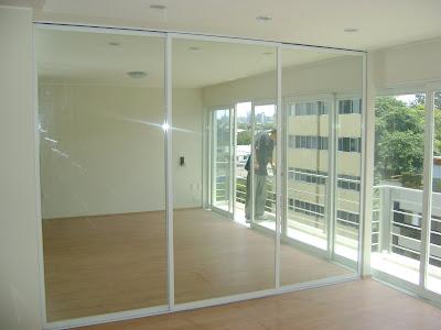 Alumsa servicios de carpinteria aluminio closets en aluminio blanco con espejos - Aluminio espejo ...