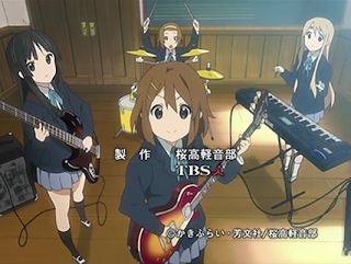 K-On (Screenshot)