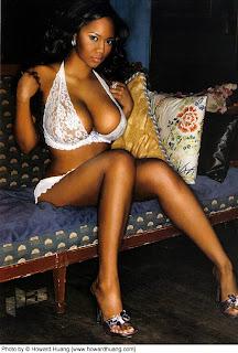 Half black women big tits