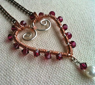 How to Wire Wrap Bail Pattern - Online Handmade and Jewelry Making