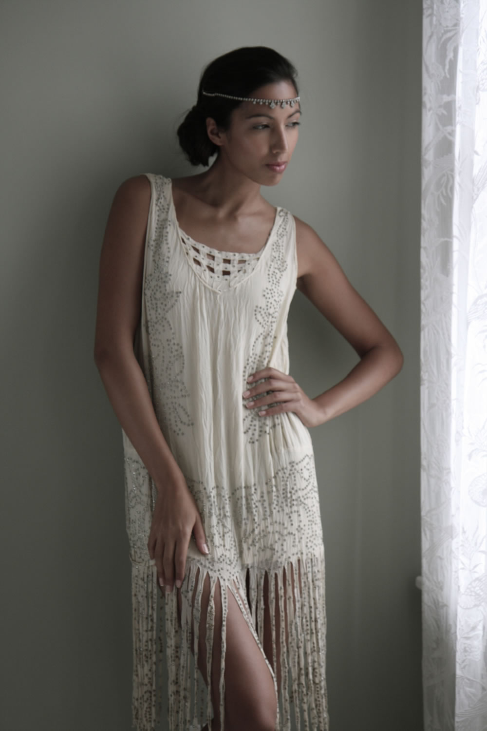 1920 Flapper Wedding Dress Wedding Dresses