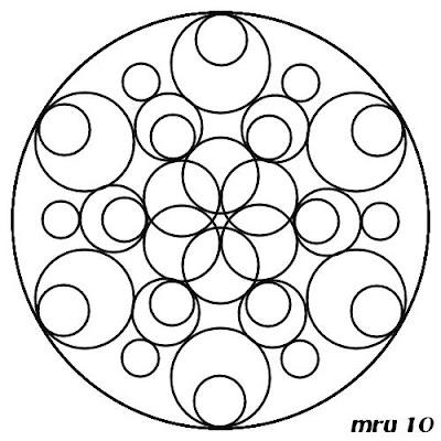 Mandalas en familia para pintar tod s junt s mandala for Dibujos para mosaiquismo