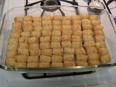Tater Tot Casserole with Mixed