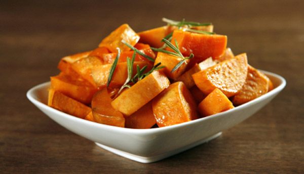 New Age Soul Food: Herb Roasted Sweet Potatoes/Yams