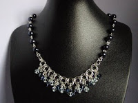 Chainmail Necklace by MagsBeadsCreation