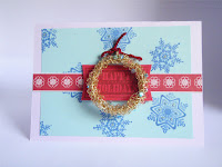 Handmade Christmas Card by MagsBeadsCreation