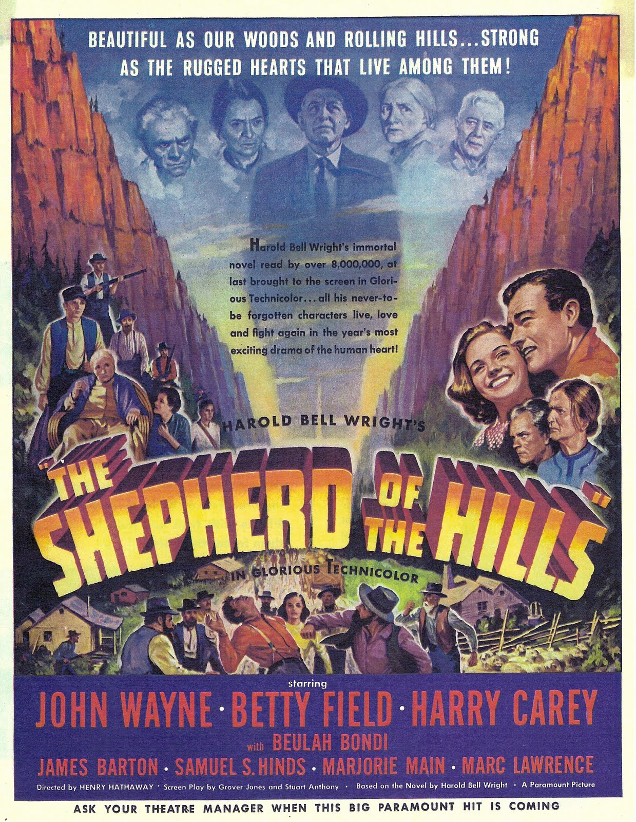 jim lanes cinedrome films of henry hathaway the