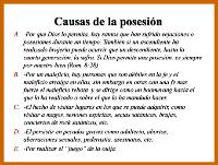 Posesión Diabólica, causas y síntomas