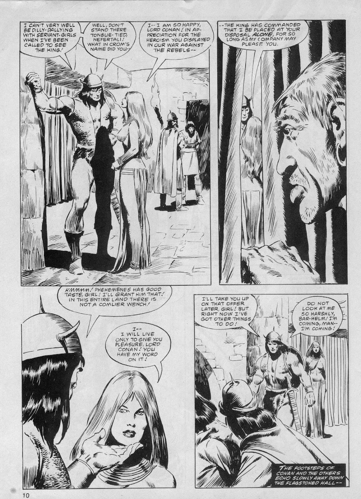 The Savage Sword Of Conan Issue #61 #62 - English 10