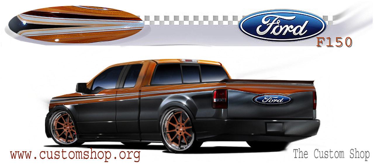 tuning patrulla: Adelanto al SEMA: Ford nos muestra sus serie F