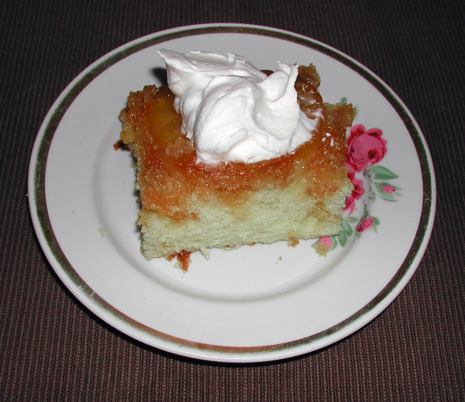 The Iowa Housewife: Pineapple-Upside Down Cake
