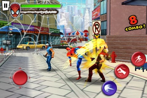 Download Spider-Man : Total Mayhem APK + DATA