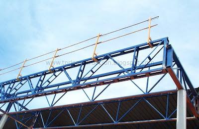 Prevenci n de riesgos laborales en construcci n cubiertas - Barandillas de obra ...