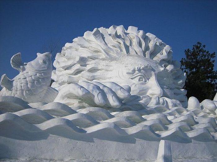 amazing art of snow - photo #9