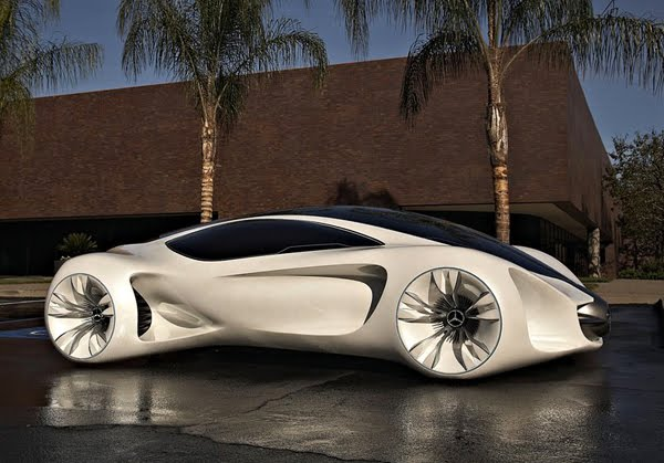 Biome Renewable Concept Car by Mercedes-Benz