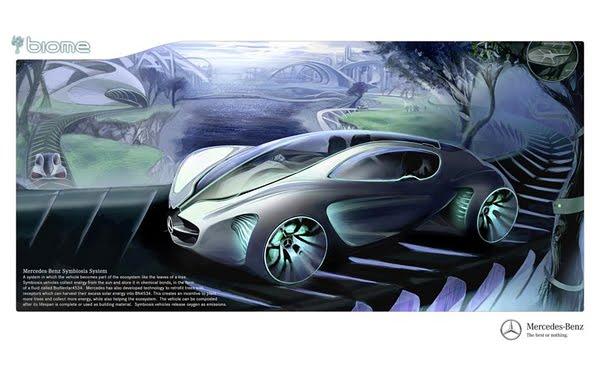 Biome Renewable Concept Car by Mercedes-Benz