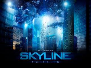 skyline movie poster - Dave sobrevive a Skyline!