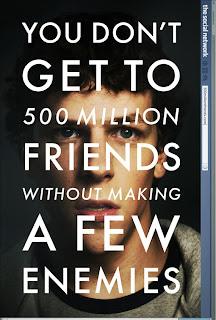 the social network poster - Las mejores 10 peliculas del año son... Según Dave.