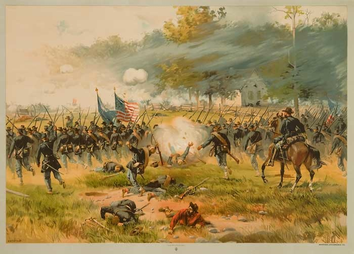 a history of the battle of antietam in the american civil war Bloody lane, antietam national battlefield - in september of 1862 soldiers were  killed in what was the bloodiest one-day battle in american history phantom.