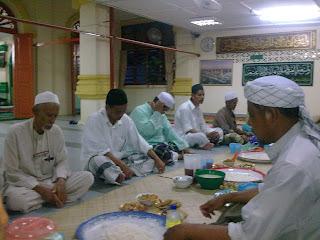 Berbuka Puasa Di Masjid Kota Raja,Kota Kuala Muda