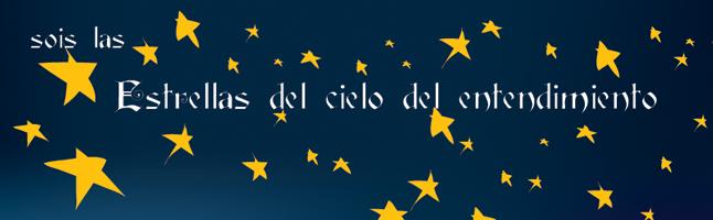 Estrellas del cielo del entendimiento