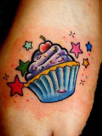 Cupcake Tatoo