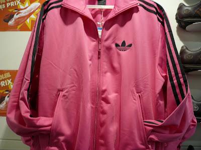 adidas veste rose homme