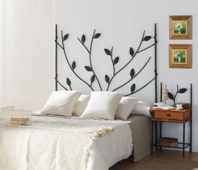 Ideas en hierro forjado camas en hierro forjado - Muebles forjados en hierro ...