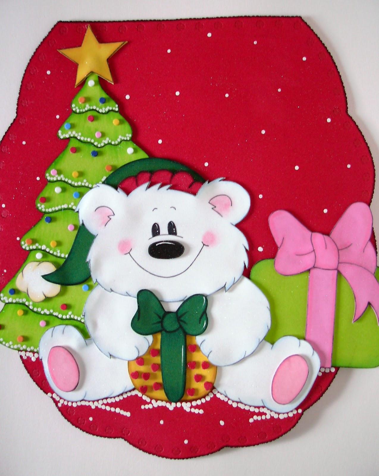 Decoracion de navidad en foami - Decoracion de navidad manualidades ...
