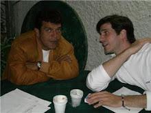 En abierta conversacion con mi alumno Jose Madonia